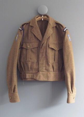 Vintage Battledress Blouse Royal Signals